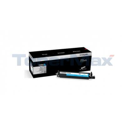 LEXMARK CX510 DEVELOPER UNIT CYAN